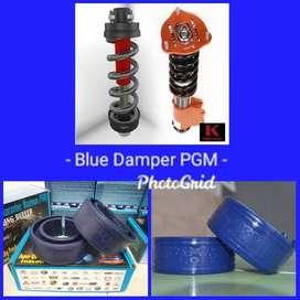Spring Buffer ganjal per untuk jaga kestabilan mobil ya Blue Damper