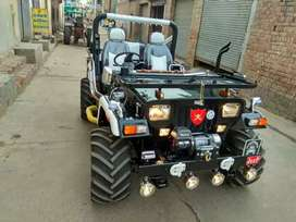 Full Modified open Jeep for sale in India