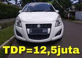 Suzuki Splash AT (Matic) 2013 | Bisa Kredit TDP=12,5juta