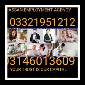 hassan employment agency staff provide at youre house