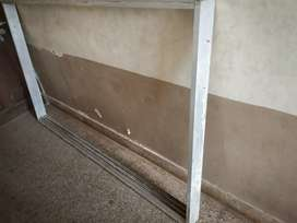 Aluminium Slider with all Panels and Windows