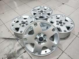velg original oem mobil ford escape murah ring16 lubang 5x114,3 silver