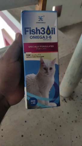 OMEGA FISH OIL  FOR CATS