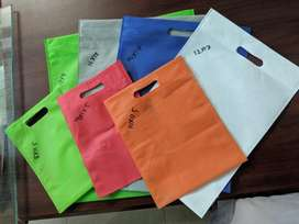 Non woven shopping bags SAY NO TO PLASTIC BAGS