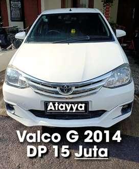 Toyota Etios valco G M/T 2014 bagus antik