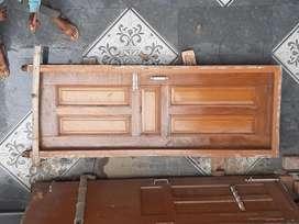 Teak wood dilha door