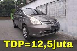 Nissan Grand Livina AT (Matic) 2012 | Bisa Kredit TDP=12,5juta