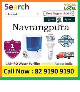 "Navrangpura RO Water Filter Water Purifier Dolphin COD 9L  Click ""Foll"