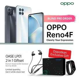 Oppo reno 4f pre oder 200k dapet gift headset