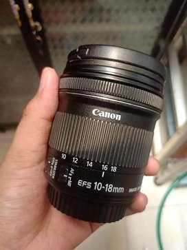 Lensa Canon 10-18mm