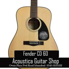 High Quality Acoustic Fender CD 60