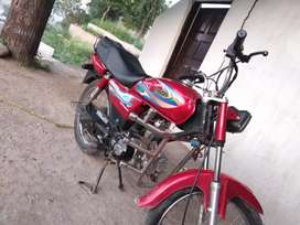 United 100cc bike