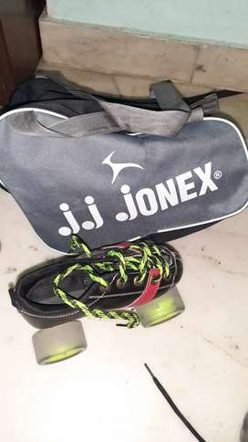Jonex Quad Skates with bag 5 to 8 years