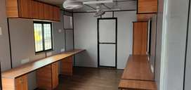 Office container with furnished