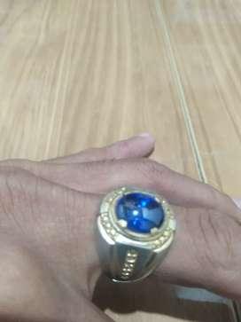 Cincin king safir ring perak