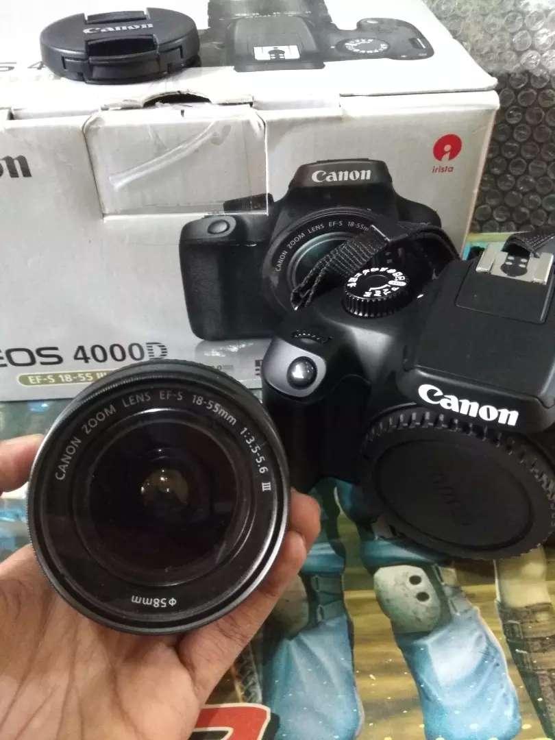 Jual Kamera Canon Eos 4000D 18-55MM 0