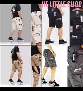 Thrasher  cargo short pants (celana pendek cargo)