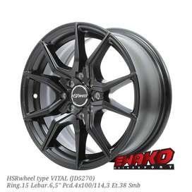 Vital R15 - HSRwheel Makassar Velg Mobil Racing Import