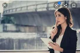Need female good looking assistant in my company...