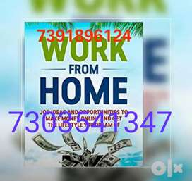 Simple typing work at home ,earn handsome money