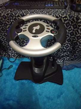 Stir steering wheel for PS2 PS1 PS3