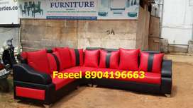 MY88 corner sofa set branded color with 3 years warrantt