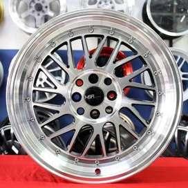 jual velg type PADDOCK JD3042 HSR Ring.17 Lebar.7,5-9 PCD.4X100-4X114,