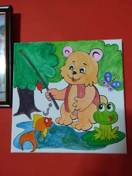 Poster painting