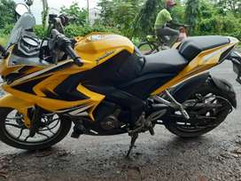 Pulsar RS 200. One hand use