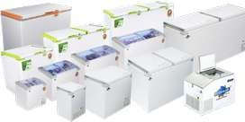 New Freezers , Visi coolers, chillers and other cooling solutions.