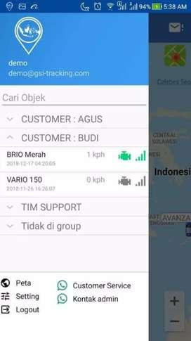 Paket hemat GPS TRACKER gt06n di curug serang+server