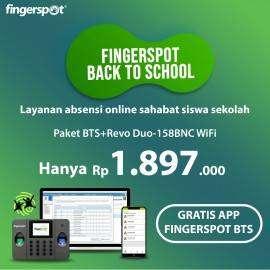 Paket Fingerspot Back to School (Promo Oktober 2019)
