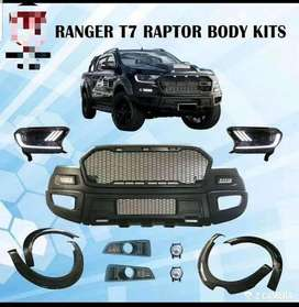 Bodykit ford ranger t7 to raptor