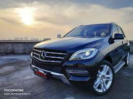 Mercedes-benz ML350 2013 Sunroof Black On Beige