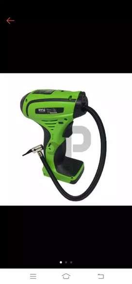 RYU RCC12 Pompa Angin Ban Mobil DC Mini Air Compressor