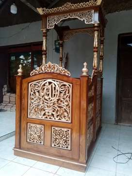 Mimbar masjid khutbah ceramah