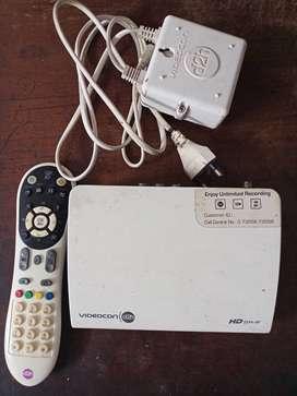 Videocon d2h hd with rf remote