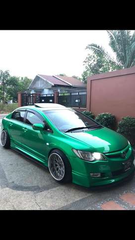 Honda civic 2006 modifikasi