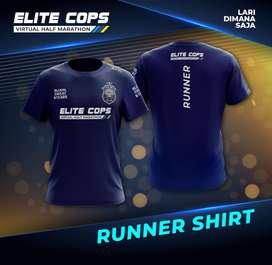 Jersey Lari/Running Marathon - ELITE COPS Virtual Marathon
