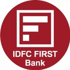 Idfc first bank sales and marketing person required