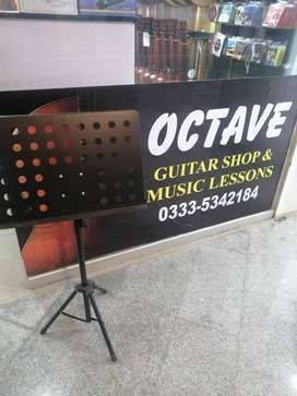 Music Stand at Octave Guitar Shop