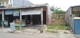 Tanah Murah Luas Ada Termasuk 3 Unit Kios di Cipayung Jaktim