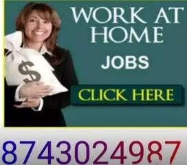 Female candidates needed back office job basic computer knowledge