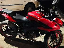 Pulsar as 150 in good condition.. 24000 km driven single owner whicle