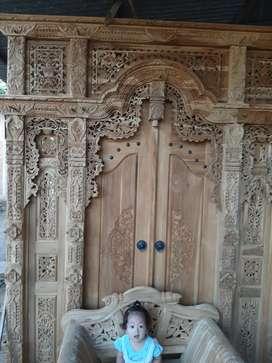 cuci gudang pintu gebyok gapuro jendela rumah masjid musholla ipah