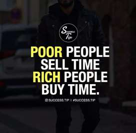 Its a opportunity to change your life