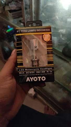 Lampu bohlam depan motor led murah