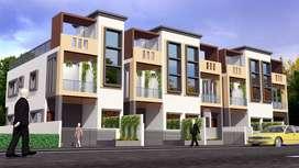 3 bhk row house under construction in lohegaon