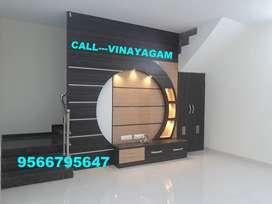 ELEGANT Villa for sale at VADAVALLI ( 63 LAKHS)--Vinayagam