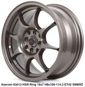 Velg Mobil KEEROM 83013 HSR R16X7 H8X100-114,3 ET42 SMBRZ